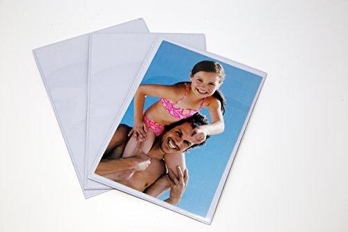 Magnetischer Bilderrahmen für Kühlschrank & Duschkabine Decor-3Pack-4x 6Foto Rahmen-Transparenter Rahmen Magnet Kunststoff Set (Magnet-rahmen Für Kühlschrank)