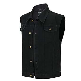 Bild nicht verfügbar. Keine Abbildung vorhanden für. Farbe  Capricorn  Rockwear Jeans Weste - Schwarz ... 27a3ff8a7b