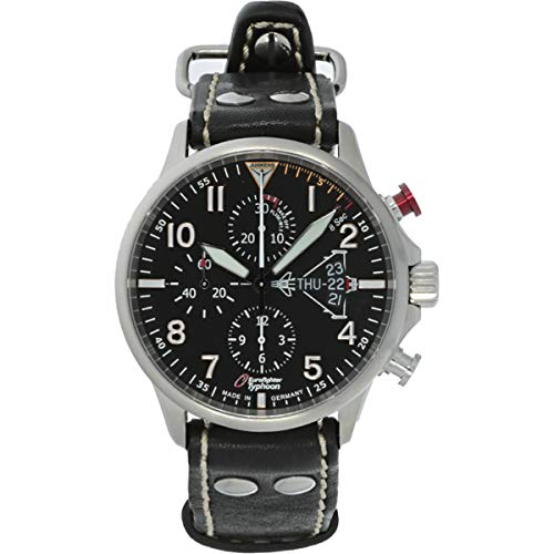 Junkers Herren-Uhren Analog Automatik One Size Kalbsleder 87354741