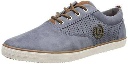 bugatti Herren 321502045900 Sneaker, Blau, 42 EU