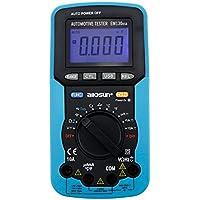 Ángulo de parada dedicado/número de rotación/tensión / corriente del multímetro digital USB, resistencia/capacitancia / frecuencia/ciclo de trabajo EM130 !