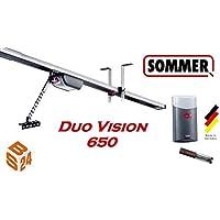 Sommer Garagentorantrieb Duo Vision 650 mit Schiene