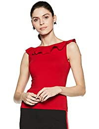 Stalk Buy Love Women's Cotton Emilia Ruffle Detail Top