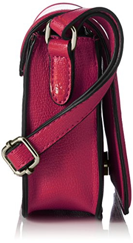 GERRY WEBER - Rainbow Flap Bag H, S, Borsa a tracolla Donna Rosa (Pink (pink 303))