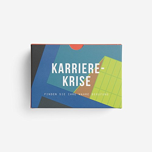 KARRIERE KRISE | KARTENSET | Deutsche Edition | The School of Life