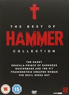 The Best Of Hammer Boxset [DVD] (B0026R7BPM) | Amazon price tracker / tracking, Amazon price history charts, Amazon price watches, Amazon price drop alerts
