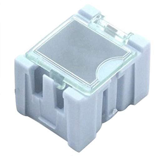TOOGOO 20 Stücke # 1 Blau Teile Box Werkzeug Box Box für Elektronische Komponenten Aufbewahrungs Box für Schrauben Span Widerst?nde ?ffnet Automatisch Patch Container