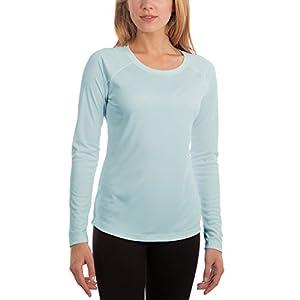 Vapor Apparel Damen Atmungsaktives UPF 50+ UV Sonnenschutz Langarm Funktions T-Shirt