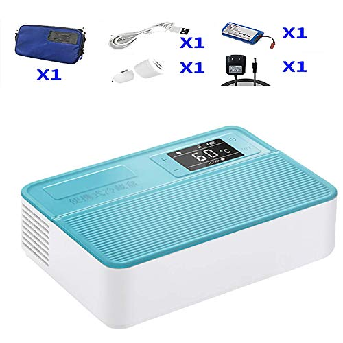 Medikamentenkühlschrank und Insulinkühler Mini-Kühlschränke mit fortschrittlichem Temperaturkontrollsystem - tragbare Medikamenten-Kühlbox/kleine Reise-Box für Medikamente