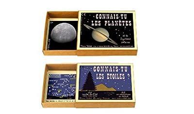 Marc Vidal - Lot de 2 Jeux - Connais-tu Les planètes/ Connais-tu Les étoiles?