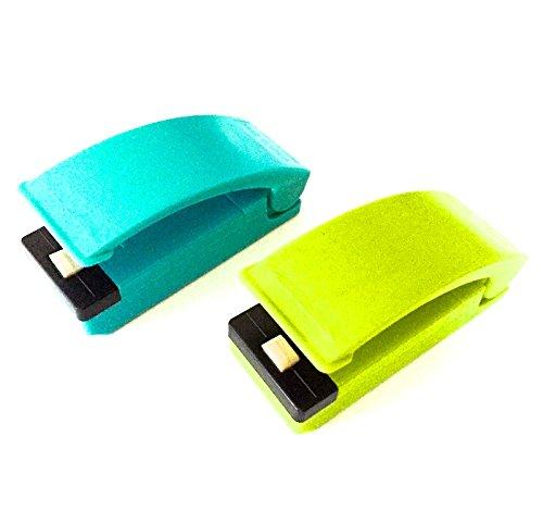 Selladora calor termico de bolsas plásticas sellador portátil