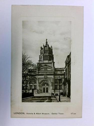 Postkarte: London - Victoria & Albert Museum, Central Tower