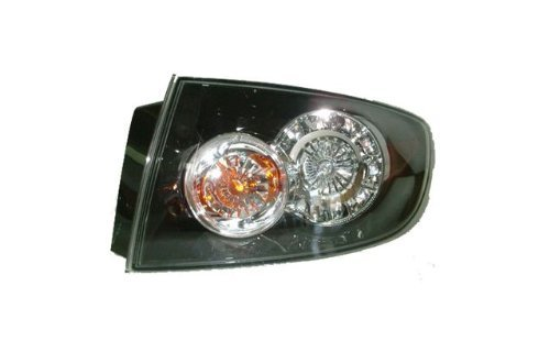 Mazda 3 Sedan Replacement Tail Light Assembly (LED Type) - Passenger Side by AutoLightsBulbs