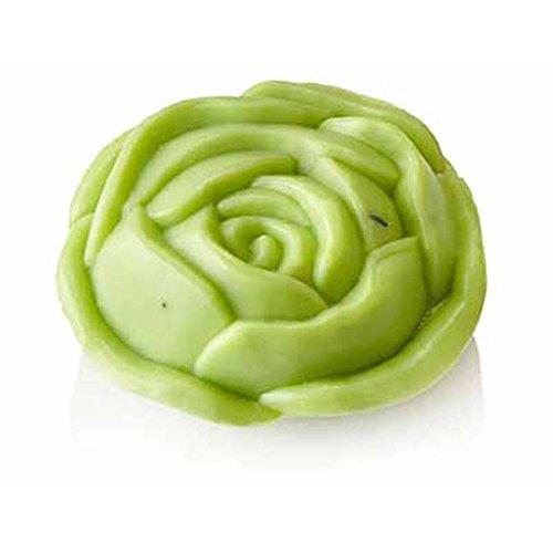 Schafmilch-Seife Rose, mit frischem Eisenkrautduft ! 100g