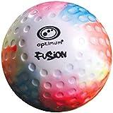 Optimum Unisex Fusion Dimple Ball, Multicoloured, One Size