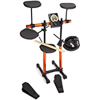 Rockjam RDB205 Electronic Drum Kit (7 Drums, MS310 Sound Module, Headphones)