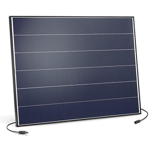 Solarmodul 150 Watt monokristallin 18V mit MC4 Steckverbindungen und neuartiger Schindeltechnik für mehr Leistung, 1031 x 785 x 35 mm Solarpanel esotec 131056 150w Solar-panel