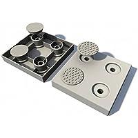 SecuCare - Tapones antideslizantes para rampa de sujeción modular SecuCare (14 unidades)