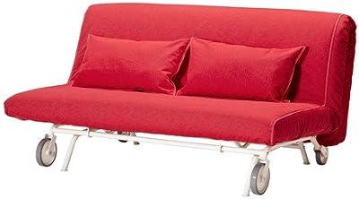 IKEA PS - cubierta sofá-cama de dos asientos, Vansta roja