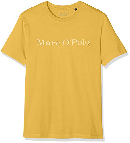 Marc O'Polo Herren T-Shirt 720222051032 Gelb (Honey 249)