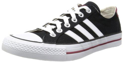 3 strisce Adidas VLNEO bassa Neo red Black white label Nero