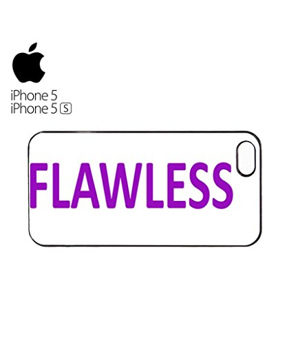 Flawless Yonce Woke Up Like This Mobile Cell Phone Case Cover iPhone 5c Black Blanc