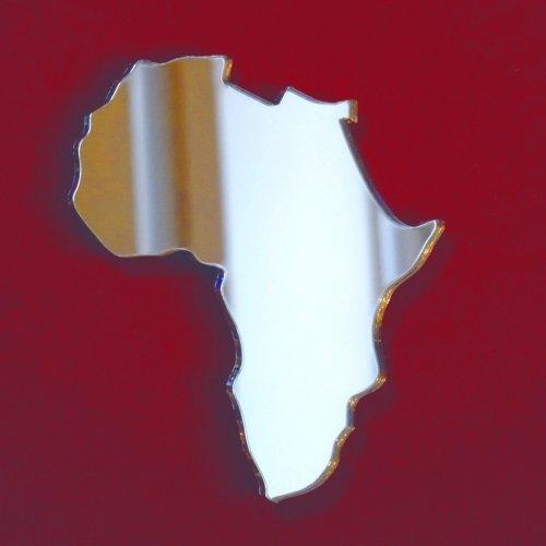 Afrika Karte Spiegel–20cm x 10cm