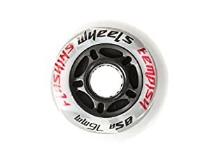 2 Roues pour rollers lumineuses TEMPISH Flashing wheels - 76mm