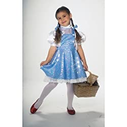 Wizard Of Oz Child's Deluxe Sequin Dorothy Costume, Toddler