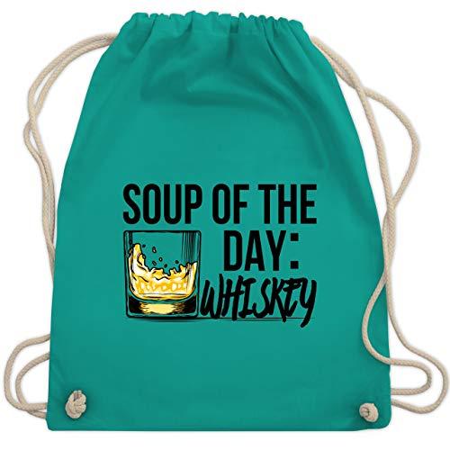 St. Patricks Day - Soup of the day: Whiskey - Unisize - Türkis - WM110 - Turnbeutel & Gym Bag
