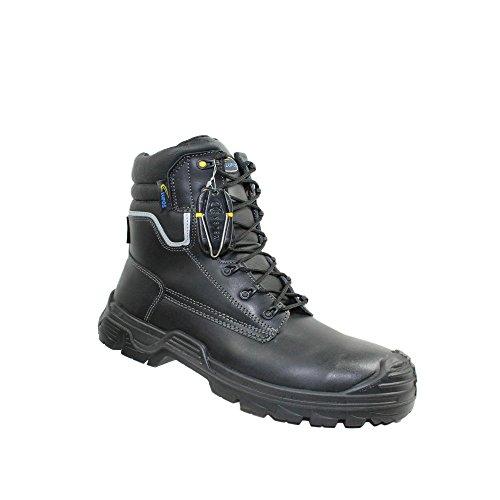 ARC lupos 40 cI berufsschuhe businessschuhe s3 sRC chaussures de chaussures de sécurité chaussures de travail noir Noir - Noir