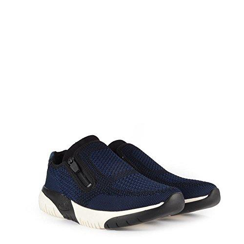 Ash Scarpe Studio Knit Ocean Blu Sneaker Donna Ocean/Nero