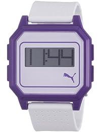 Puma Time Active Damen-Armbanduhr Flat Screen Digital Plastik A.PU910951007