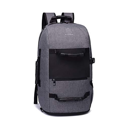 WYX Travel Rucksack, Large Capacity Rucksack Laptop-Bag-Schule Wasserbeständige Leichtgewicht Casual Daypack für Männer Frauen,A
