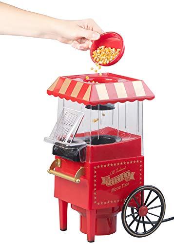 Rosenstein & Söhne – Heißluft – Popcornmaschine – Retro - 2