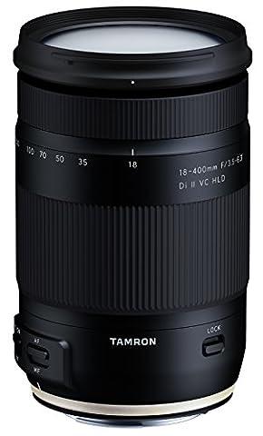 Tamron B028 E Objectif 18-400 mm F/3.5-6.3 Di II VC HLD pour Canon APSC Noir