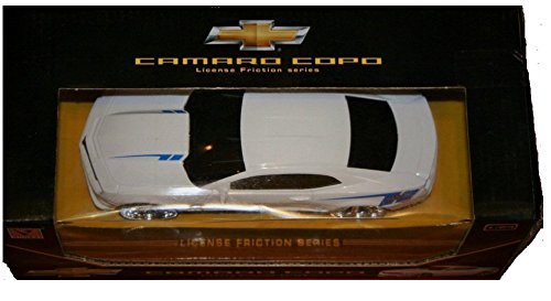 Guokai Chevrolet Chevy Camaro Copo Model Car 1:24 Scale Officially Licensed GM Product, License Fric