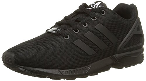 sale retailer 4840b 48a45 adidas Zx Flux, Boys  Low-top Trainers Black Size  3.5 UK