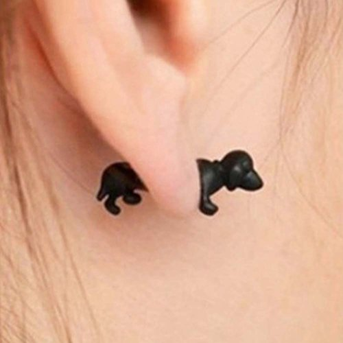 Ein Paar kreative spezielle Mode Cartoon Tiere Ohrstecker Ohrringe, (Designer Ohrringe Modeschmuck)