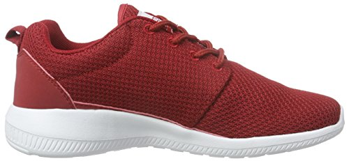Kappa Speed Ii Footwear Unisex, Mesh/Synthetic, Baskets Basses Mixte Adulte Rouge (1910 chili/white)