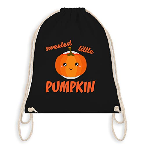 Anlässe Kinder - Sweetest little Pumpkin Halloween - Unisize - Schwarz - WM110 - Turnbeutel & Gym Bag