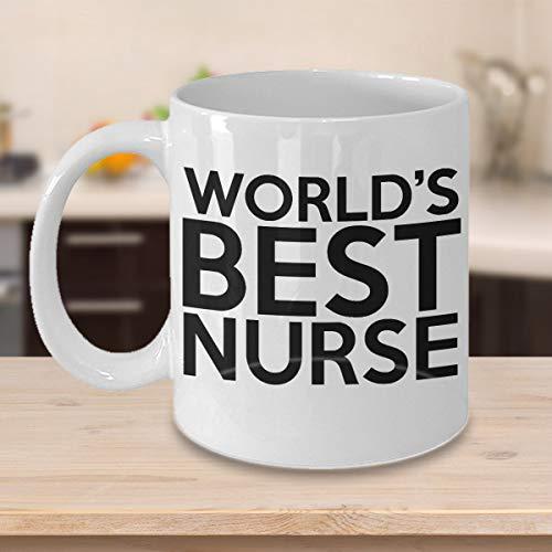 Mike21Browne Beste Krankenschwester Job Kaffee Haferl Krankenpflege Student Graduation Registered Nurse Geschenk 294