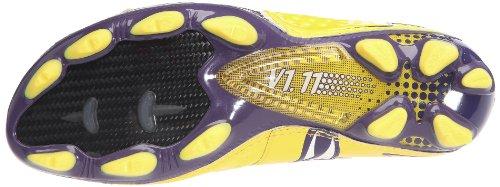Pumav1.11 i FG - Scarpe da calcio Uomo Gelb (vibrant yellow-parachute purple 05)