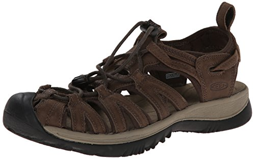 KEEN Whisper Leather W Scarpa brown/brindle