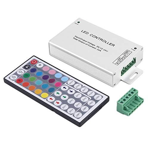 Ir-quick-strip (ghfcffdghrdshdfh DC 12V 24A 288W 44key IR Remote Control RGB 3528 5050 SMD LED Strip)
