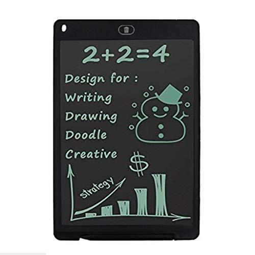 LCD Schreibtablett Elektronisches Schreiben Doodle Zeichenbrett Kinder Junge Mädchen Writing Tablet Schreibtafel Digitaler Grafiktabletts Drawing Pad 8,5 Zoll (Schwarz)