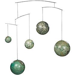 Globo terráqueo Mobile, esferas viaje a través del tiempo, esferas de 5 siglos