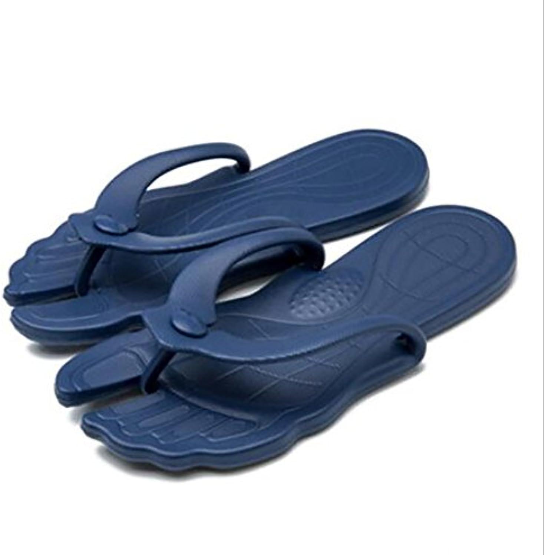 les femmes et les hommes a été shangxian tongs sandales apparteHommes portatif léger voyage apparteHommes sandales ts darkBleu  pantoufles chaussures, 33 / 34 222dcb