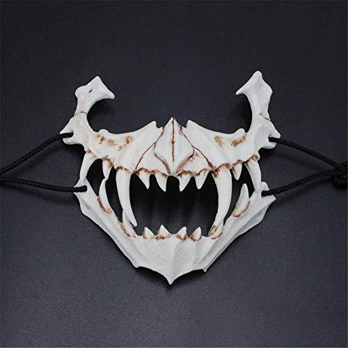 Schurke Kostüm Geschichte - Halloweenmaske aus Harz, japanischer Schriftsteller, zweites Element, Drache, Gott, Tiger, Nachtgabel, Requisiten, Maske, C e