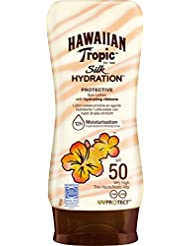 Hawaiian Tropic - Lotion Solaire Hydratante - Silk Hydration - SPF 50